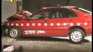 Краш тест Volvo S40 1997 (E-NCAP)