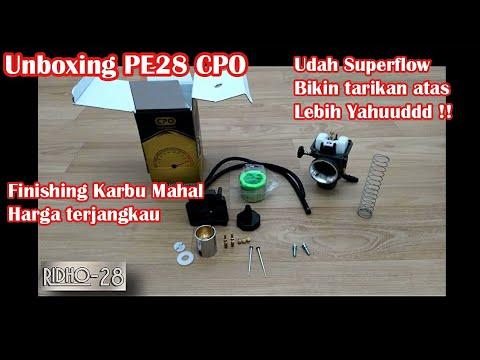Unboxing Karburator PE 28 CPO bukan PWK 28 CPO - YouTube