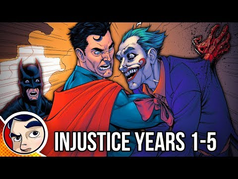 Injustice Year One to Five - Full Story