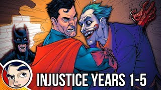 Injustice Year One to Five - Full Story | Comicstorian thumbnail