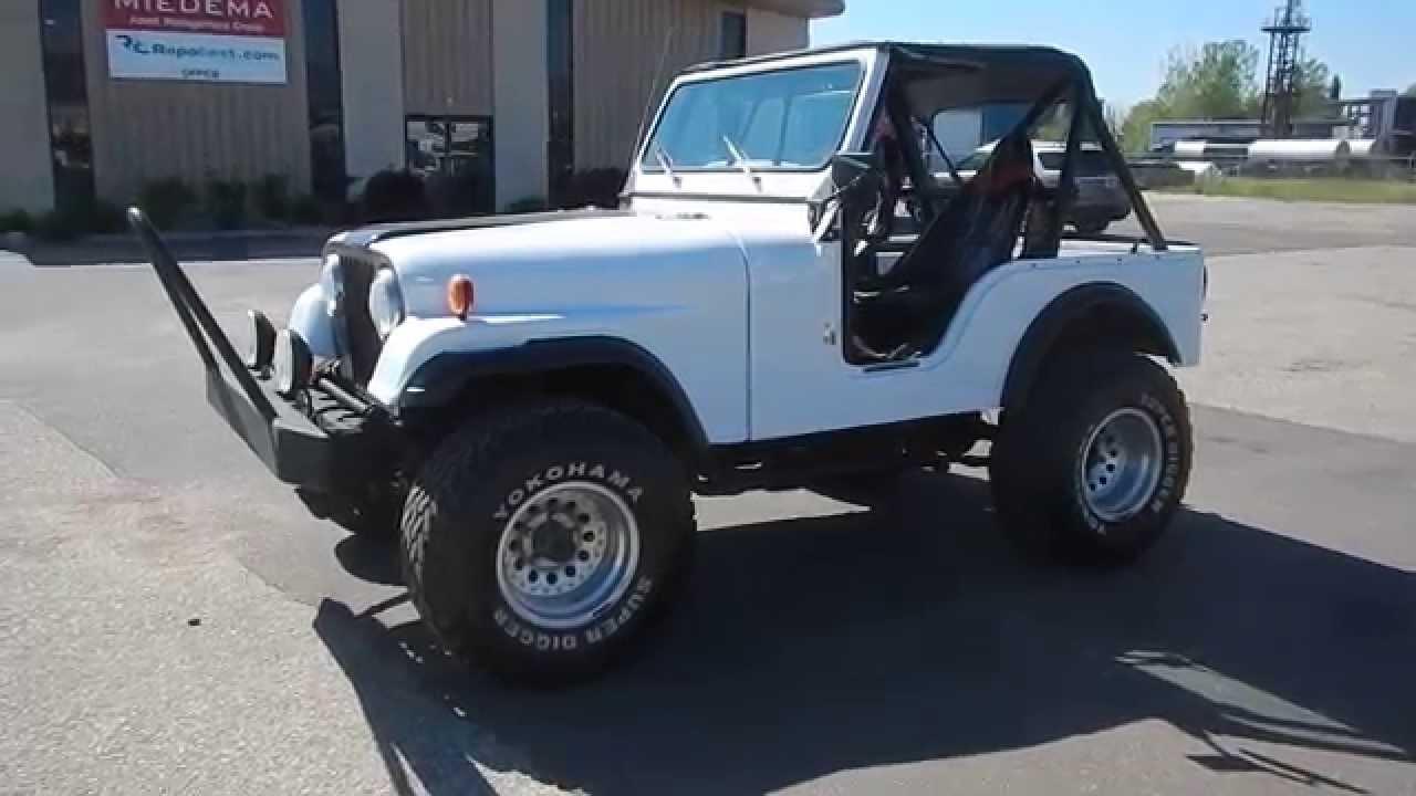 1975 jeep cj5 for sale online auction [ 1280 x 720 Pixel ]