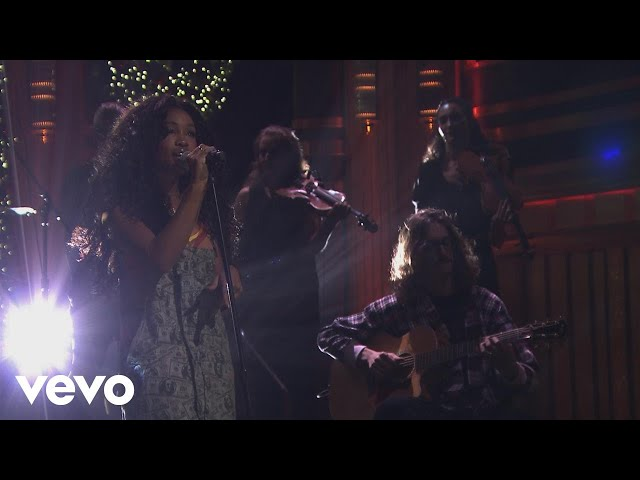 SZA - Supermodel (Live From The Tonight Show Starring Jimmy Fallon)
