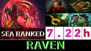 Raven [Lycan] The Fast-Paced Carry SEA Ranked ► Dota 2 7.22h