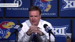 Coach Self Post Game Press Conference vs Rider // Kansas Basketball // 11.24.14