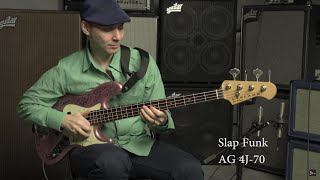Aguilar Jazz Bass Pickup Comparison // BassTheWorld.com
