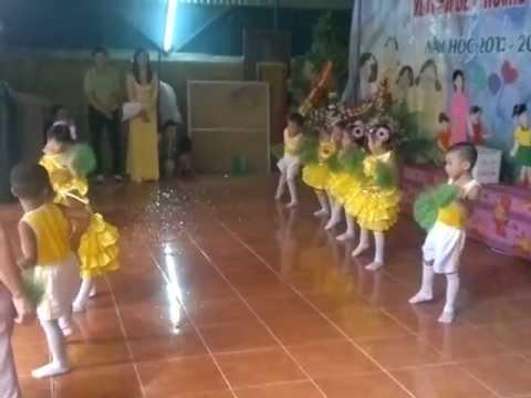 Trường Mầm non Lại Xuân(Con cào cào Lớp Mật ).mp4