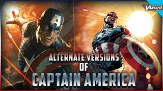 The Alternate Versions Of Captain America!