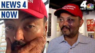 MAGA Hat Attack: Police Looking for Mob that Beat Man Over Trump Support | News 4 Now
