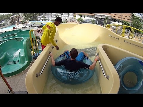 White Water Slide at Splash Jungle Water Park