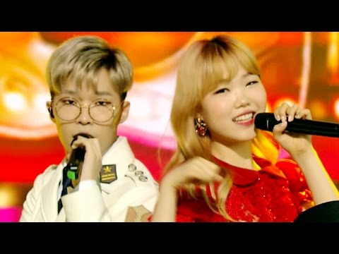 """EXCITING"" AKMU (musisi) - RE-BYE @ Lagu Populer Inkigayo 20160605"