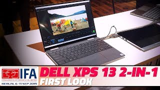 IFA 2019: First Look at the Dell XPS 13 2-in-1 Laptop