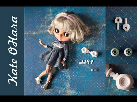 Запчасти и одежда для кукол Blythe. Обзор моих покупок для творчества.