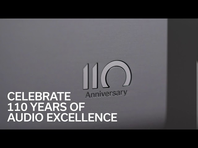 Celebrate 110 Years of Audio Excellence with the DCD-A110 Anniversary Edition SACD Player