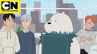 The Bear Bros Meet MONSTA X | We Bare Bears | Cartoon Network