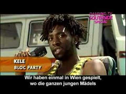 Bloc Party Interview