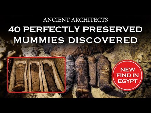 40 Perfectly Preserved Egyptian Mummies Discovered | Ancient Architects