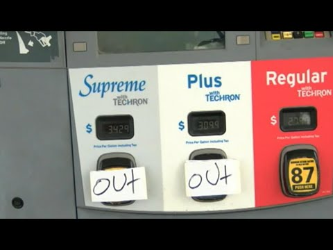 Drivers go to extreme lengths as gas stations run out of fuel