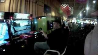 Mark Races Ashley NASCAR Game