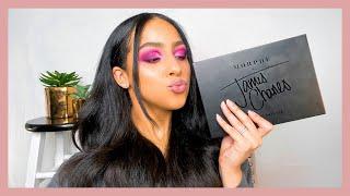 James Charles x Morphe Mini Palette and Eye Brush Set Review + Makeup Tutorial