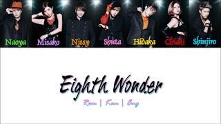 AAA - Eighth Wonder [Color Coded Lyrics/Kan/Rom/Eng]