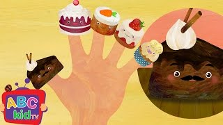 Finger Family Cake | Nursery Rhymes & Kids Songs - ABCkidTV