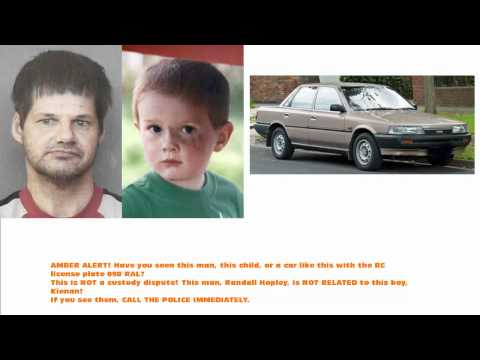 AMBER ALERT! Child Abducted In BC!