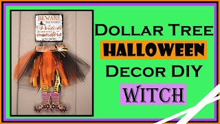 Dollar Tree DIY Halloween 2019 Witch Home Decor