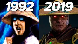 Evolution of Raiden 1992-2019
