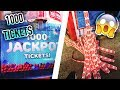 WE HIT THE JACKPOT!! 1000+ TICKETS!! ARCADE GAME HACKS!! 100% JACKPOT WIN RATE!