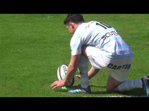 La belle pénalité de DAN CARTER - Racing 92 Vs Pau - 2017