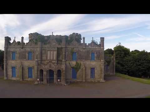 Necarne Castle, Irvinestown, Co. Fermanagh. Northern Ireland - DJI Phantom 2