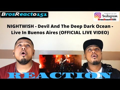 EPIC!!! | NIGHTWISH - Devil And The Deep Dark Ocean - Live In Buenos Aires LIVE VIDEO | REACTION