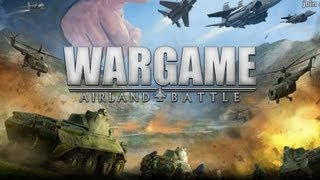 Wargame: Airland Battle Gameplay [ PC HD ]