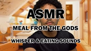 #asmr:  Mac Pie, Bbq Chicken, Beans, Rice And More Whisper And Eating Soudns
