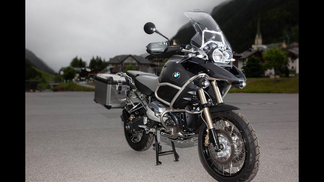 BMW R 1200 GS Adventure-Test in den Alpen - YouTube