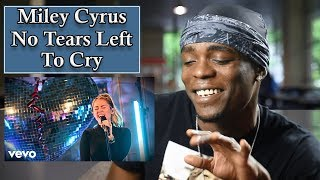 Mark Ronson, Miley Cyrus - No Tears Left To Cry (Ariana Grande cover) | Oso's Reaction