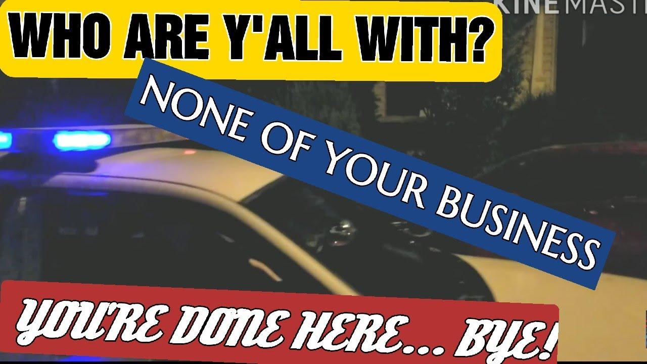 DOMESTIC DISTURBANCE...STOLEN CAR... 10,000 CLUB... FIRST AMENDMENT AUDIT... PLEASE SHARE!