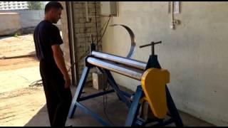 видео вальцы для листового металла