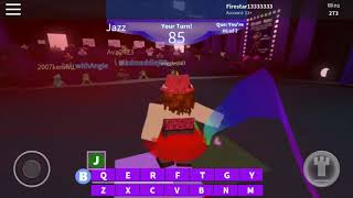 Roblox- Dance Your Blox Off [Version mobile]- Ex's et Oh's- Jazz