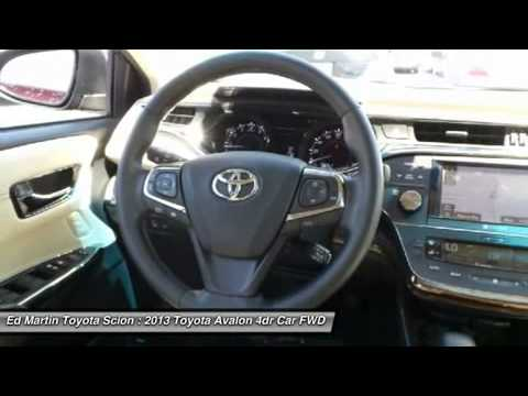 Marvelous 2013 TOYOTA AVALON Anderson, IN 6P3422. Ed Martin