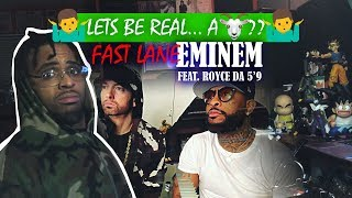 EMNIEM THE GOAT? | Fast Lane ft. Eminem, Royce Da 5'9