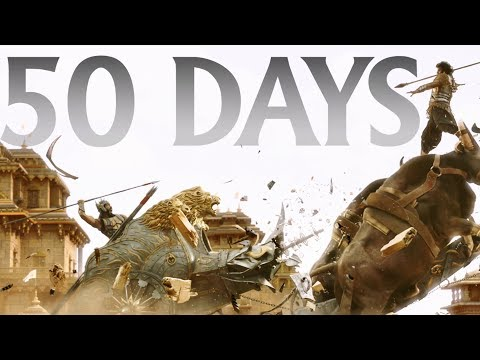 Baahubali 2 - The Conclusion 50 Days Trailer | No.1 Blockbuster of Indian Cinema