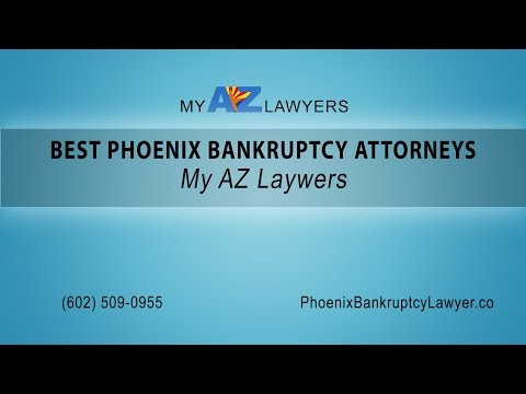 Best Phoenix Bankruptcy Attorneys | My AZ Lawyers
