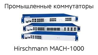 Обзор промышленного коммутатора Hirschmann MACH1030