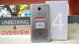 Xiaomi Redmi Note 4 (4GB Ram) Flipkart Indian Retail Unit Unboxing & Overview   How is it
