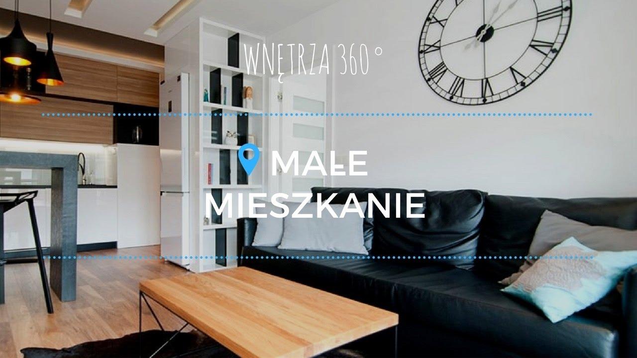Aranżacja przytulnego małego 38 m2 mieszkania #projekt wnętrz