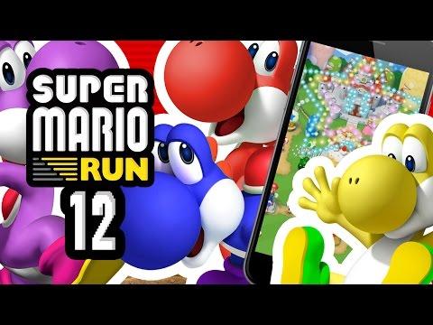 SUPER MARIO RUN FR #12 - NOUVEAUX PERSONNAGES : PLEIN DE YOSHI !