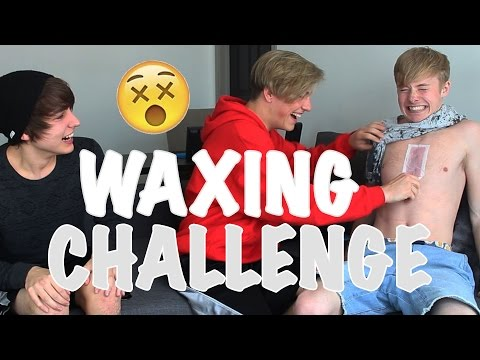 WAXING CHALLENGE | w/ Tayler Holder