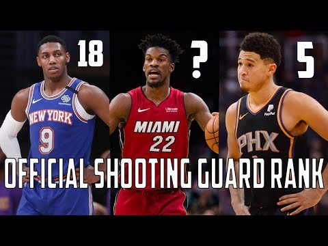 Ranking EVERY Starting Shooting Guard From ALL 30 NBA Teams!