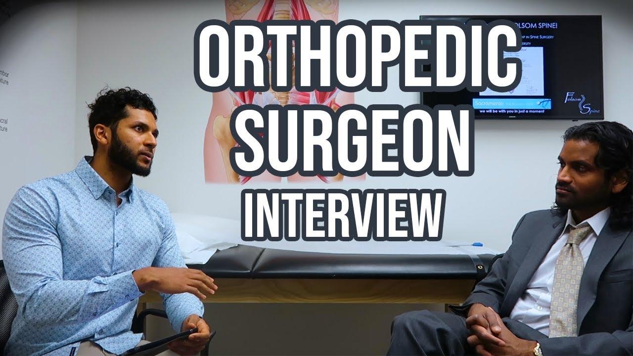 Stanford, Harvard, Yale & Princeton Trained Orthopedic Surgeon Interview | Surgery Residency #Orthopedicsurgery